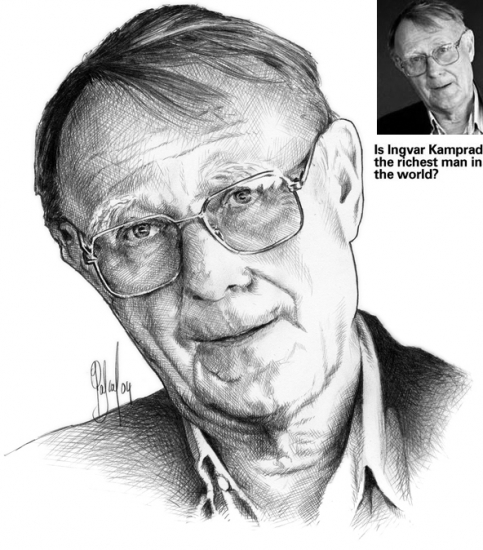 Ingvar Kamprad par Pastis